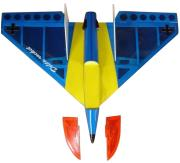 vq delta jet airplane yellow blue arf kit photo