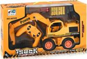 rc truck excavator stunt and light 5 channel orange photo