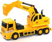 rc lkw bagger super truck construction orange 9888 photo