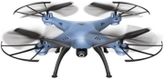 SYMA X5HW 4-CHANNEL 2.4G RC QUAD COPTER WITH GYRO + CAMERA BLUE gadgets   παιχνίδια   drones