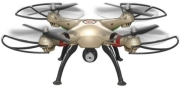 SYMA X8HW 4-CHANNEL 2.4G RC QUAD COPTER WITH GYRO + CAMERA GOLD gadgets   παιχνίδια   drones