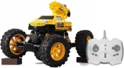 RC MONSTER TRUCK 2 IN 1 SUPERSONIC 1:12 YELLOW gadgets   παιχνίδια   μοντελισμός