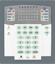 paradox k32rf 32 zone wireless led keypad module photo
