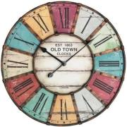 tfa 603021 vintage xxl design wall clock photo