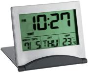 tfa 981054 multi functional digital travel alarm clock photo
