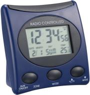 technoline wt 221 radio controlled clock blue photo