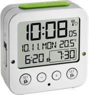 tfa 60252854 bingo funk alarm clock with temperature photo