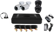 vandsec vk a6104hxa13 dvr kit ahd with 2 ir dome and 2 ir bullet cameras 36mm 960p photo
