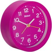 mebus 27210 quarz alarm clock pink photo