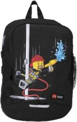 LEGO V-LINE CITY FIRE SCHOOL BACKPACK BLACK είδη γραφείου   τσάντες
