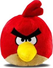 angry birds 022286911535 red bird plush toy photo