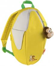 hama 102417 step by step junior banana kindergarten backpack photo
