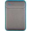 speck macbook pro 13 flaptop sleeve graphite grey electric blue graphite grey photo