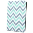 greengo universal case zigzag grey mint for tablet 9 10  photo