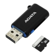 adata premier 8gb micro sdhc uhs i class 10 retail with otg micro reader photo