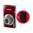 canon ixus 185 red essential kit photo