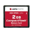 agfaphoto compact flash 2gb high speed 120x mlc photo