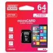 goodram 64gb micro sdxc uhs i class 10 adapter photo