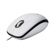 logitech m100 mouse white photo
