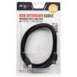 natec nka 0433 usb20 extension cable 3m black photo