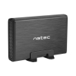 natec nkz 0448 rhino 35 usb 30 sata enclosure slim aluminium black photo