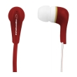 esperanza eh146r stereo earphones lollipop red photo