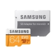 samsung mb mp64ga eu evo 64gb micro sdxc uhs i u3 class 10 with adapter photo