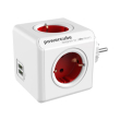 allocacoc powercube original usb red type f for extended cubes photo
