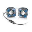 trust 21182 xilo compact 20 speaker set blue photo