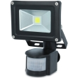 forever ip65 led fixture outdoor floodlight sensor 10w 6000k photo