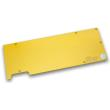 ek water blocks ek fc980 gtx backplate gold photo