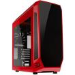 case bitfenix aegis core micro atx red black photo