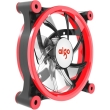 aigo z6 led fan 120mm red photo