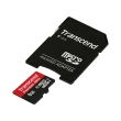 transcend ts8gusdu1 8gb micro sdhc class 10 uhs i 400x premium with adapter photo