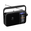 panasonic rf 2400d portable am fm radio black photo