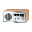 sangean wr 1 fm am wooden cabinet receiver walnut photo