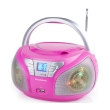 audiosonic cd 1560 stereo radio disco led light cd usb mp3 photo