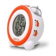 gotie gbe 200p digital clock with mechanical bell alarms orange photo