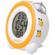 gotie gbe 200y digital clock with mechanical bell alarms yellow photo