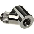monsoon adapter 45 degree 13 10mm chrome black photo