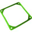 jv anti vibration frame for 80mm fans uv green photo
