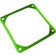 jv anti vibration frame for 80mm fans uv green photo