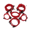 super flower sleeve cable kit pro red photo