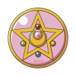 sailor moon mousepad brooch in shape photo