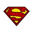 dc comics mousepad superman logo in shape photo