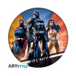 dc comics mousepad justice league in shape photo