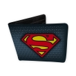 dc comics wallet superman suit vinyl photo