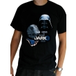 star wars t shirt dark side man ss black l photo