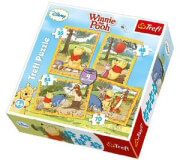 PUZZLE TREFL WINNIE 4/1 (35/48/54/72 ΚΟΜΜΑΤΙΑ) βρεφικά   παιδικά   παιχνίδια μωρού