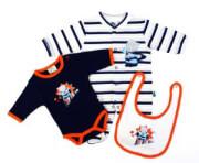 ΣΕΤ ΔΩΡΟΥ F.S. BABY SUPER BEAR 11682 ΜΠΛΕ βρεφικά   παιδικά   αναμνηστικά   δώρα